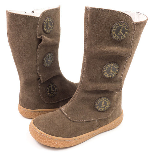 LIVIE & LUCA, TIEMPO BOOT IN TAUPE