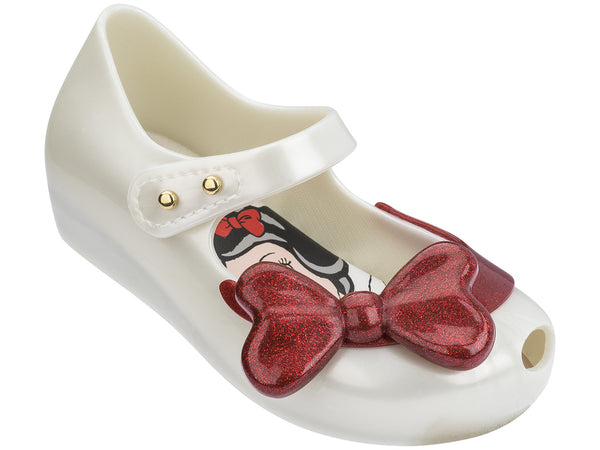 MINI MELISSA MINI ULTRAGIRL SNOW WHITE IN WHITE WITH RED
