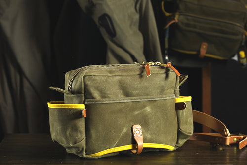 Cache Side Bag - Brown