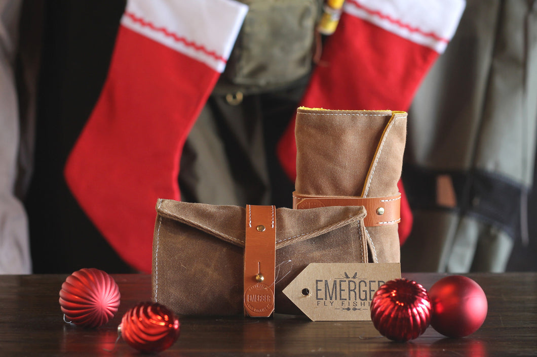 Emerger Fly Fishing. Fly Wallet Holiday Bundle. Buy any two wallets, includes streamer wallets and leader wallets, and save 20%.
