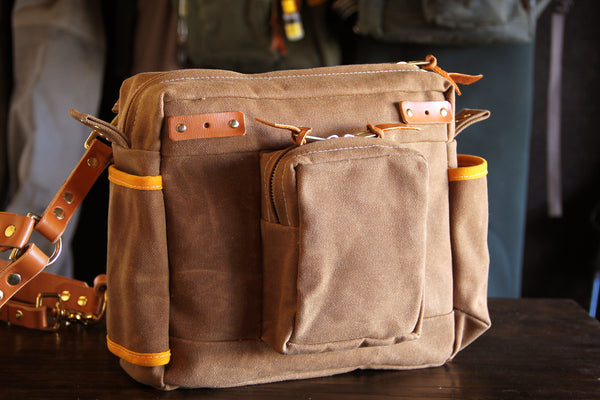 Elkhorn Side Bag - Brown