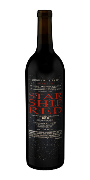 "2015 ""STAR SHIP"" RED BLEND"
