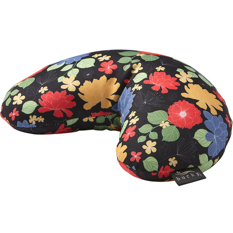 Wholesale Compact Neck Pillow with Snap & Go - Garden Blooms - Bucky Products