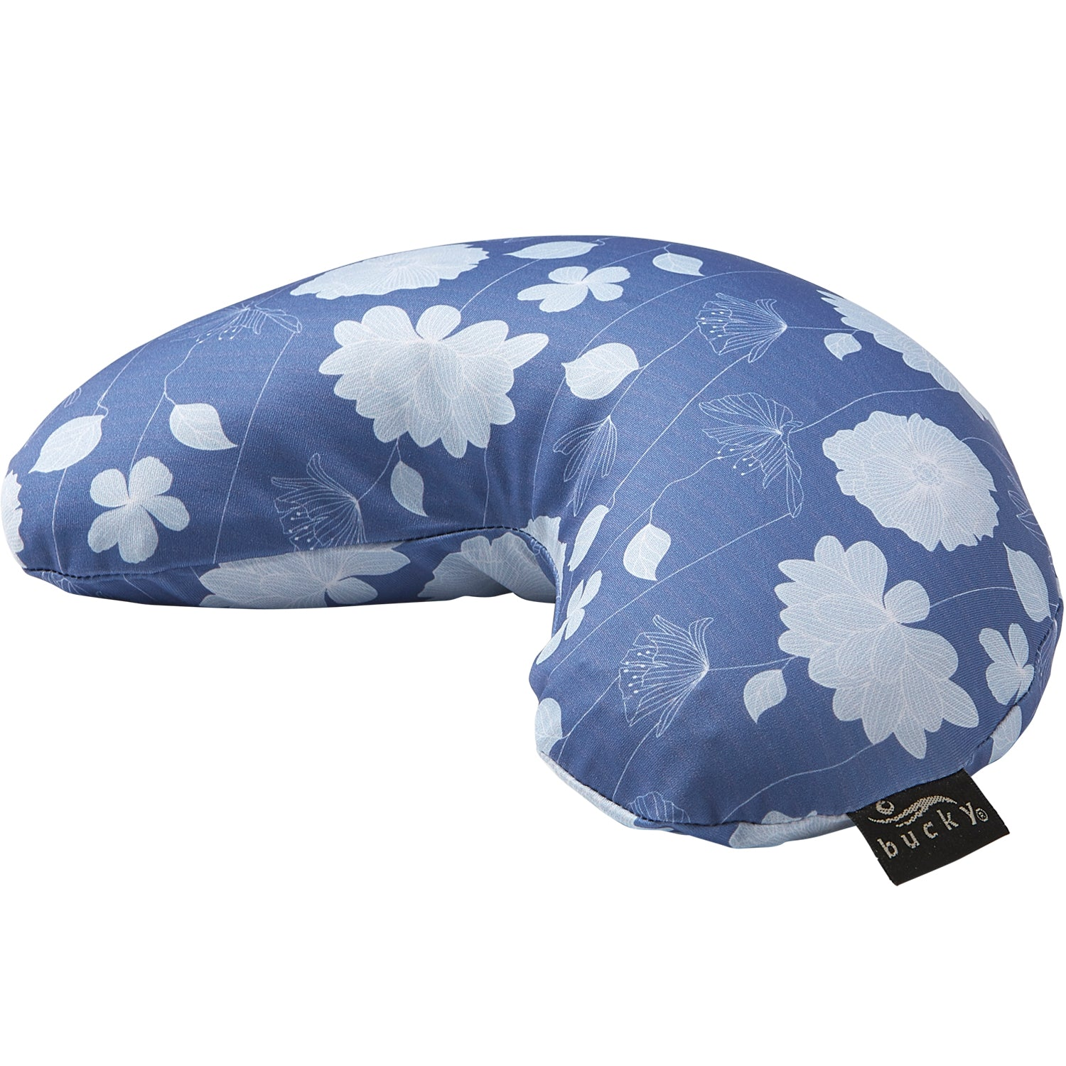 Compact Neck Pillow With Snap Go Simple Stems