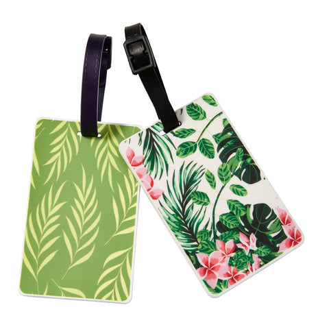 Wholesale Tropical Glam Luggage Tag - Bucky Products