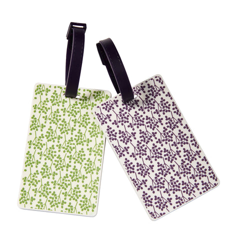 Wholesale Vintage Floral Luggage Tag - Bucky Products