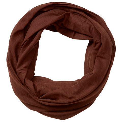 Everyday Infinity Scarf - Brown - Bucky Products Wholesale