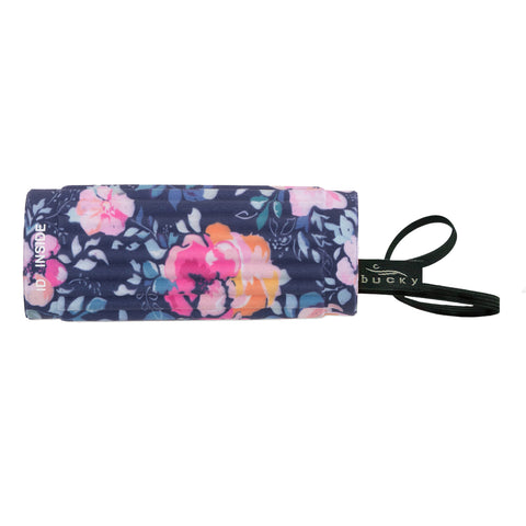 IdentiGrip Luggage Handle Wrap - Midnight Floral - Bucky Products Wholesale