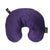 Fun Fur Neck Pillows with Snap & Go - Eggplant - Bucky - 1