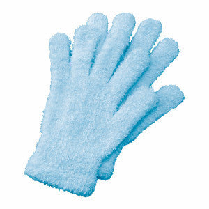 Spa Gloves - Blue - Bucky Products Wholesale