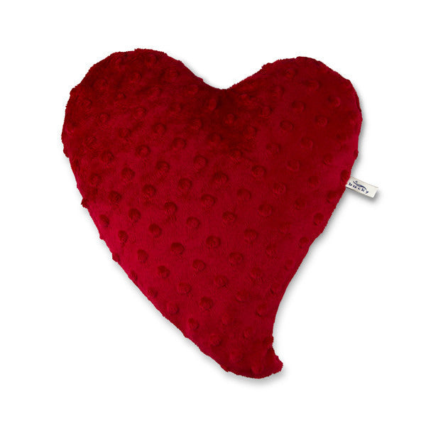 Travel Size Heart Warmer Pillow Red