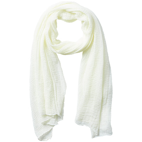 Classic Insect Shield Scarf - Ivory - Bucky Products Wholesale