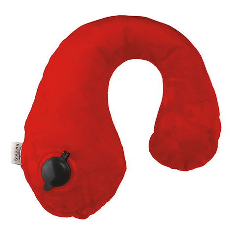 Gusto Inflatable Neck Pillows with On Air Technology - Flame