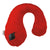 Wholesale Gusto Inflatable Neck Pillows - Flame - Bucky Products