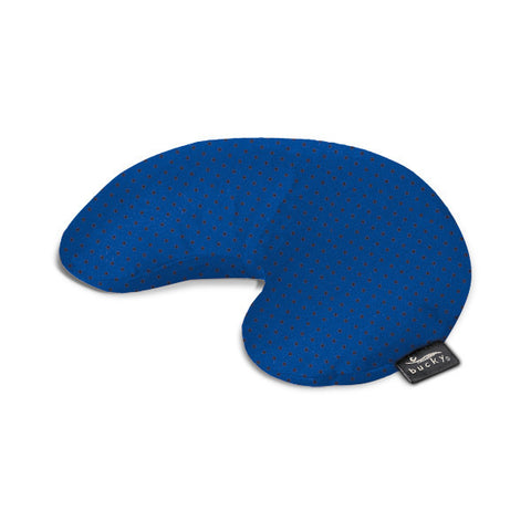 Compact Neck Pillow with Snap & Go - Black Dot - Bucky Products Wholesale