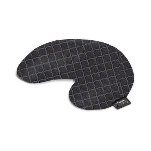 Compact Neck Pillow with Snap & Go - Lattice - Bucky Products Wholesale