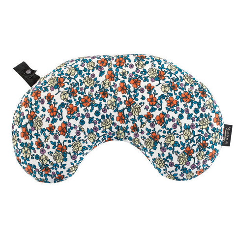 Compact Neck Pillow with Snap & Go - Ditsy Floral - Bucky Products Wholesale