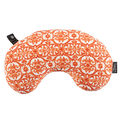Compact Neck Pillow with Snap & Go - Damask - Bucky Products Wholesale