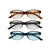 Tortoise Reading Glasses Set +1.5 - 3Pc Mixed Pack