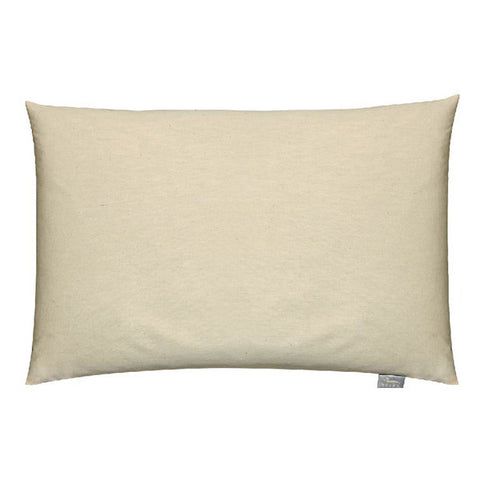 Organic Cotton Buckwheat Bed Pillow - White - Bucky Products Wholesale