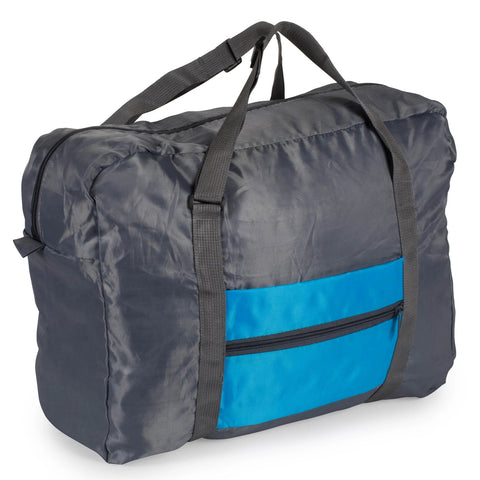 Foldable Travel Bag - Blue - Bucky Products Wholesale