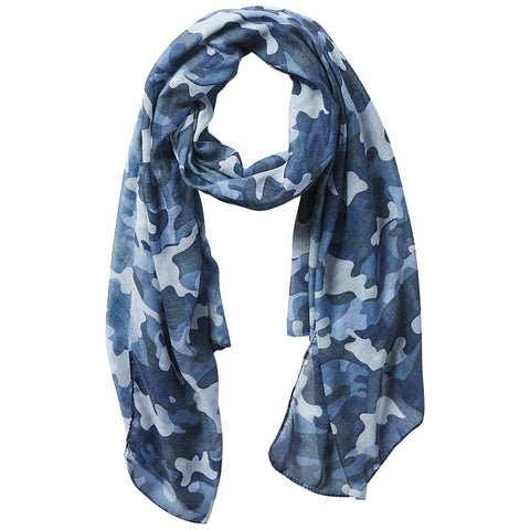 Insect Shield Scarf - Black Camo - Bucky Products Wholesale