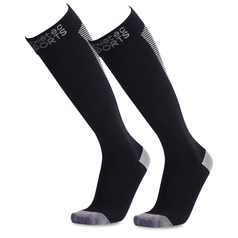 Compression Socks - Black - Bucky Products Wholesale