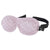 Ultralight Sleep Mask - Peony Pink Chevron