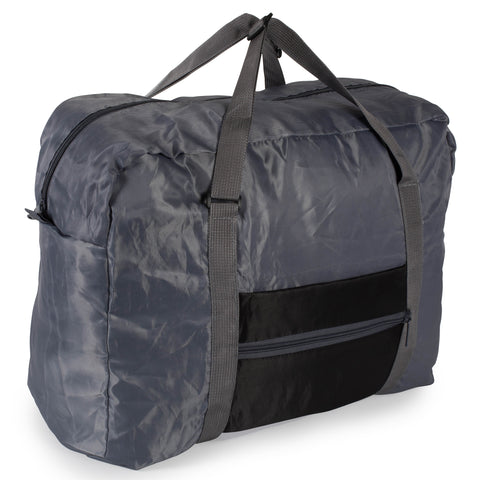 Foldable Travel Bag - Black - Bucky Products Wholesale