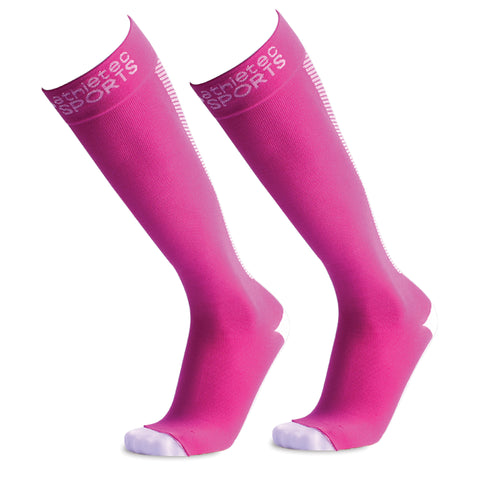 Compression Socks - Hot Pink - Bucky Products Wholesale