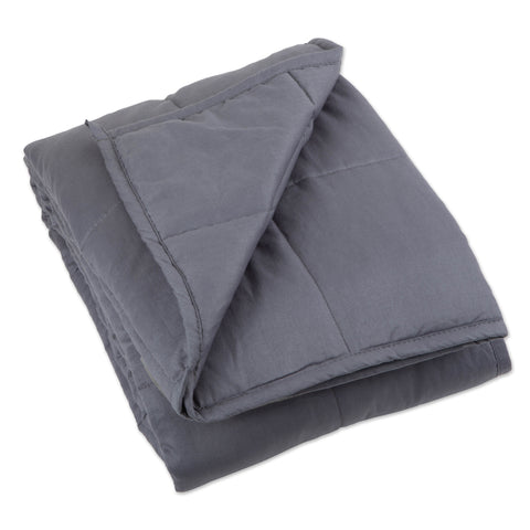 "60"" x 80"" Weighted Blanket - Gray - Bucky Products Wholesale"