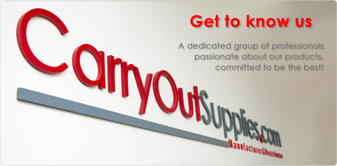 CarryOut Supplies - Custom Yogurt Cups
