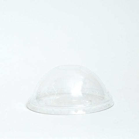 DOME LIDS FOR PAPER YOGURT CUPS 5.5 OZ.
