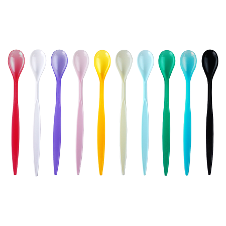 2000 PCS ASSORTED SODA SPOONS (10 COLORS) - CarryOut Supplies