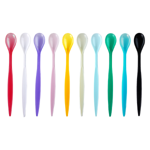 4000 PCS  Assorted Colors Soda Spoons - (10 COLORS) - Special - CarryOut Supplies