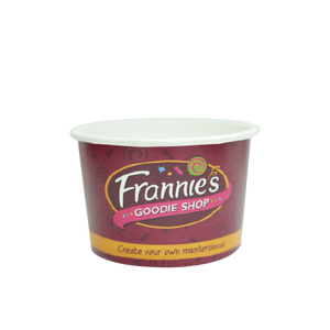 10 OZ. CUSTOM PRINTED YOGURT CUPS - 50% DEPOSIT REQUIRED - FROM $0.0739 TO $0.0599 CENTS PER CUP - CarryOut Supplies