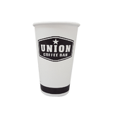20 CASES - 12 OZ. CUSTOM PRINTED COFFEE CUPS - 50% DEPOSIT REQUIRED - $61.96/CS