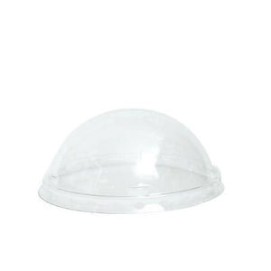 GSC - 12 oz. Dome Lids for Paper Yogurt Cups 1000pcs/cs (Item: DLID-12) - CarryOut Supplies