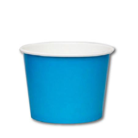 12 OZ.  PAPER YOGURT CUPS 1000 PCS/CS - BLUE