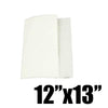 "LARGE DISPENSER NAPKINS, VIRGIN (WHITE), 12""X13"" - 6,000 SHEETS / CS - CarryOut Supplies"