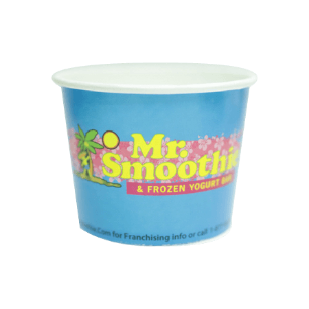 16 OZ. CUSTOM PRINTED YOGURT CUPS - 1000 PCS/CS - 50% DEPOSIT REQUIRED - Special Pricing - CarryOut Supplies