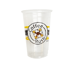 30 CASES - 16OZ CUSTOM PET CLEAR CUPS 1000PCS/CS - 1 COLOR - 50% DEPOSIT REQUIRED - $62.30/CS - CarryOut Supplies