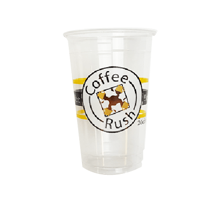 30 CASES - 16OZ CUSTOM PET CLEAR CUPS 1000PCS/CS - 4 COLORS - 50% DEPOSIT REQUIRED - $84.50/CS - CarryOut Supplies