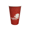 20 CASES - 16 OZ. CUSTOM PRINTED COFFEE CUPS - 50% DEPOSIT REQUIRED - $62.20/CS - CarryOut Supplies
