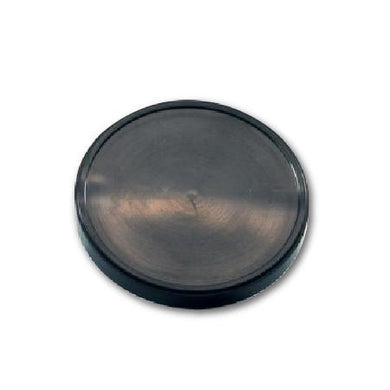 FLAT LIDS FOR 16 OZ. PAPER ICE CREAM FOR CONTAINER FOR ( BLACK ) - CarryOut Supplies