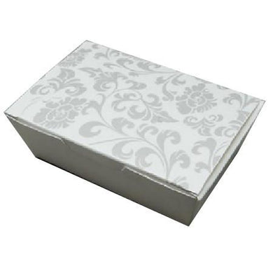 PAPER FOOD BOX (16 OZ.) FLORAL PRINT - CarryOut Supplies