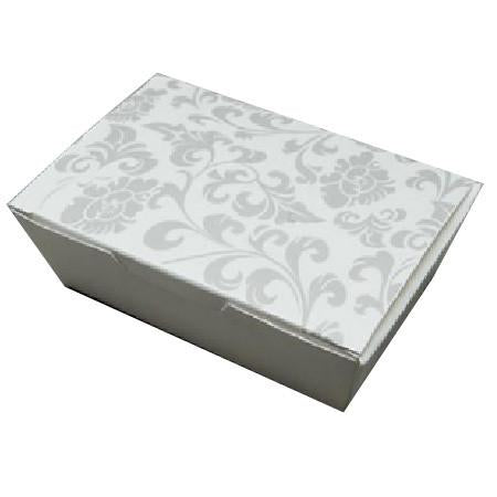 PAPER FOOD BOX ( 16 OZ. ) FLORAL PRINT