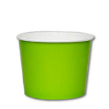 16 OZ. PAPER YOGURT CUPS 1000 PCS/CS - GREEN