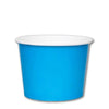 16 OZ. PAPER YOGURT CUPS 1000 PCS/CS - BLUE - CarryOut Supplies