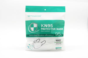 Powecom KN95 CDC APPROVED MASK (Packs of 10, 30, 50 Available) - CarryOut Supplies